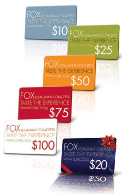 Gifts For Everyone Gift Cards For All Tastes by The Greene House Taste