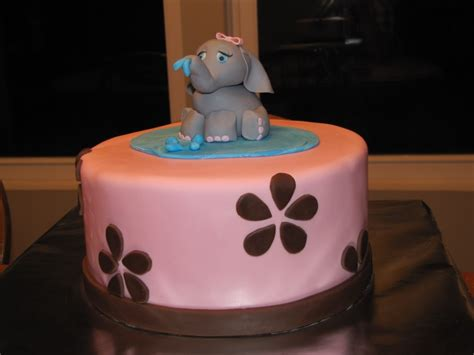 Pink Elephant Baby Shower Ideas by Elephant Cakes Decoration Ideas Little Birthday Cakes