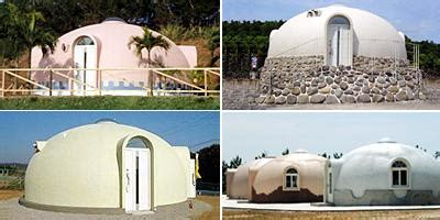 expanded polystyrene made dome house living small cheap and simple try a dome house treehugger