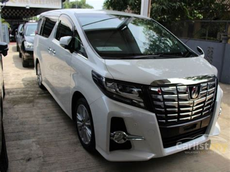 2015 Toyota Alphard 2 5 G At toyota alphard 2015 g s c package 2 5 in kedah automatic