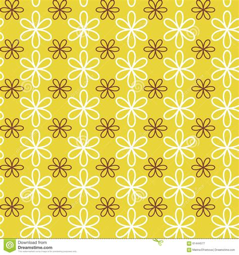pattern fill image flower ornament vector pattern stock vector image