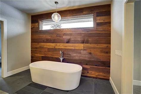 bathroom wood walls 20 bathrooms with wood wall designs