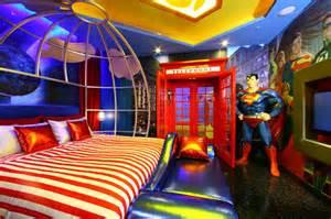 Superman Home Decor by Cool Rooms Nerdiest Geektastic Rooms Ever