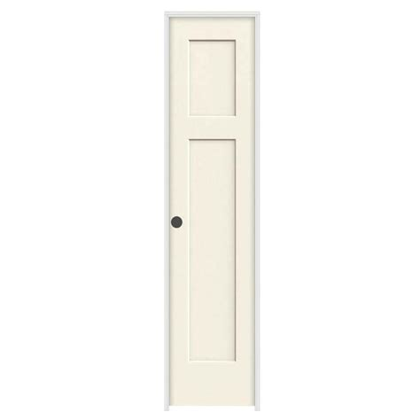 Jeld Wen 18 In X 80 In Molded Smooth 6 Panel French 18 Closet Door
