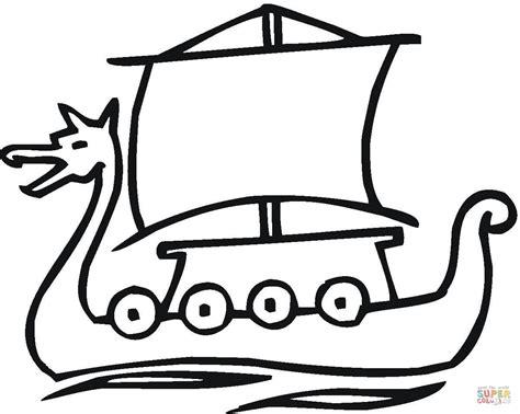 Ausmalbild Wikingerschiff  Ausmalbilder Kostenlos Zum Ausdrucken sketch template