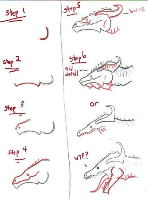 pattern drawing dragon dragon head tutorial by floodbait on deviantart