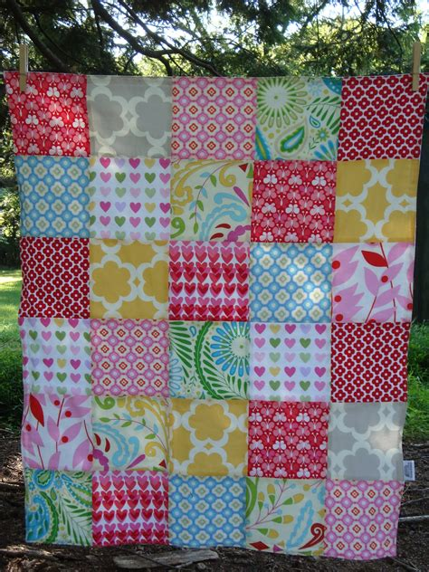 How To Make Patchwork Quilt - textile trolley how to make a patchwork baby blanket no
