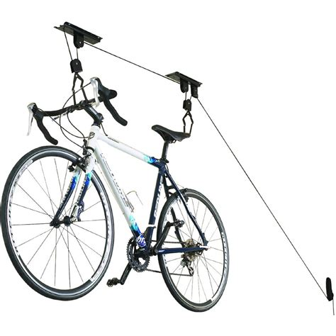 Bicycle Storage Rack by Hoist Bike Storage Rack In Ceiling Bike Storage
