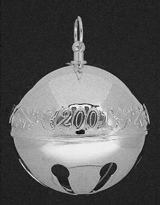 wallace silver bell 2018 2001 wallace sleigh bell silverplate ornament sterling collectables