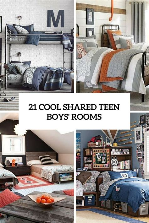 21 cool shared boy rooms d 233 cor ideas digsdigs