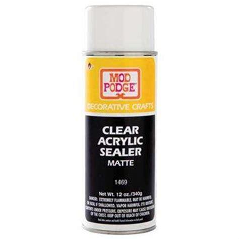 Clear Acrylic Sealer Mod Podge Clear Acrylic Sealer Craft Ideas