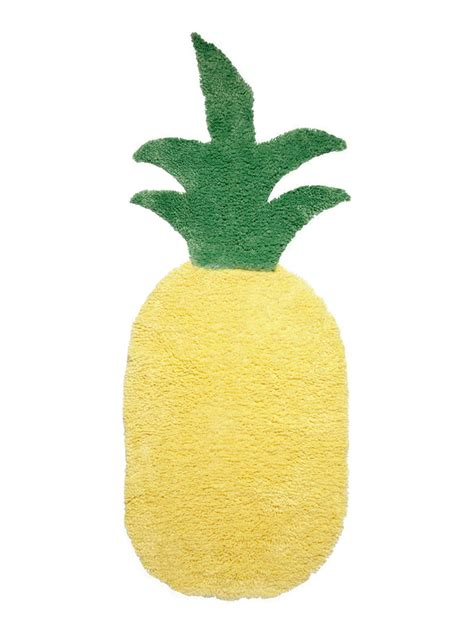 Pineapple Rug by How To Make A Diy Pineapple Bath Rug Hgtv