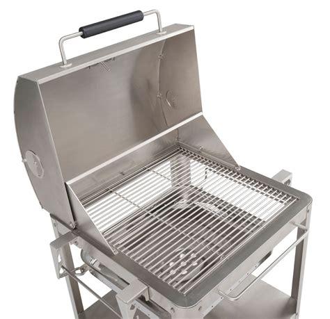 smoker grill edelstahl holzkohlegrill