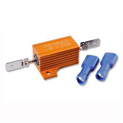 Lu Led Motor 25 Watt motorfiets knipperlicht weerstand 10 ohm 25 watt kellermann