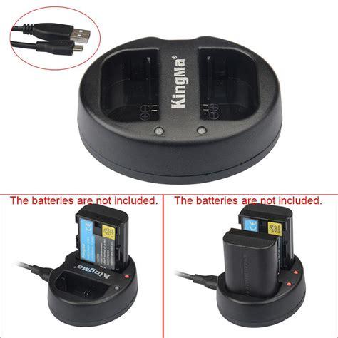 Kingma Bm015 Lpe6 Dual Charger For Canon Lp E6 kingma bm015 lpe6 dual 2 channel battery charger for lp e6