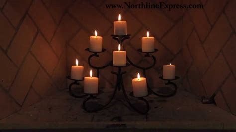 Fireplace Candelabrum by Chandelier Style Fireplace