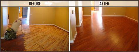 Craftsman Custom Flooring Services, Hardwood Sanding