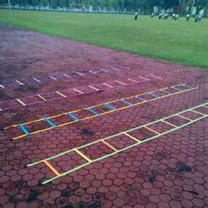 10 Meter Agility Ladder Speed Ladders Tangga Ketangkasan Kelincahan jual agility ladder speed ladder tangga ketangkasan