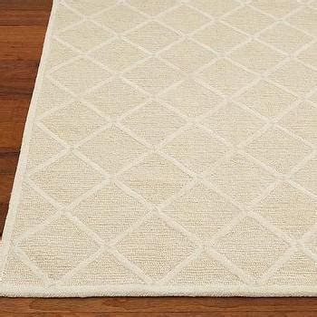 Pottery Barn Rug Pad Knot Trellis Rug 3 Colors Shades Of Light
