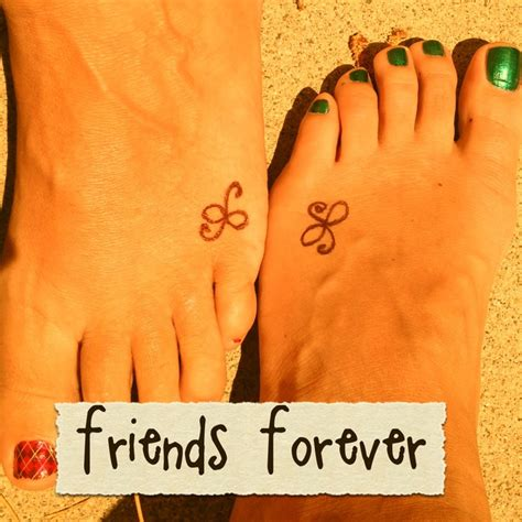 forever friends tattoo designs friendship tattoos