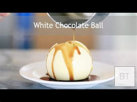 white balls the white chocolate