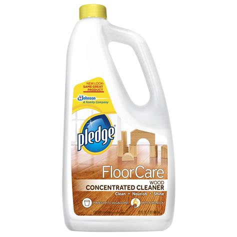 pledge floorcare wood concentrated cleaner review
