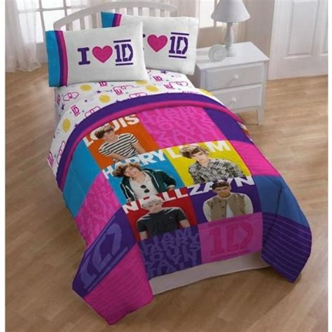 one direction bedding one direction 1d patchwork bedding and from amazon