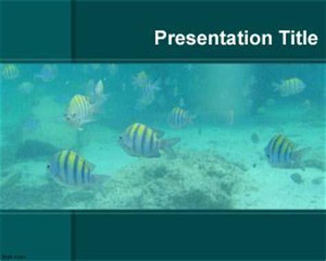 Aquarium Ppt Templates Free Aquarium Powerpoint Template