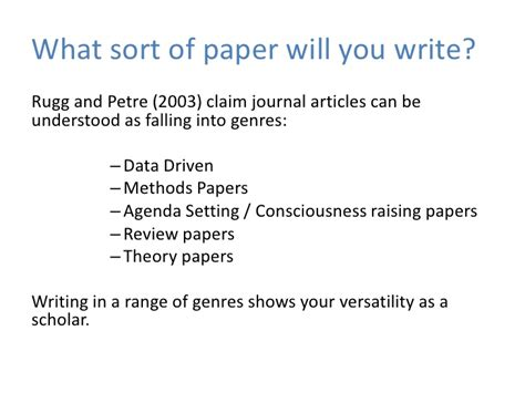 how to write a paper for a journal write that journal article in 7 days