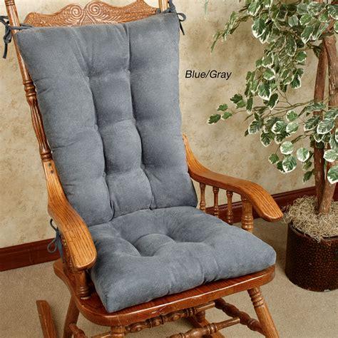 chair cushion set twillo slip resistant rocking chair cushion set
