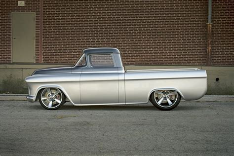 customized chevy trucks 1957 chevrolet custom truck quiksilver 185887