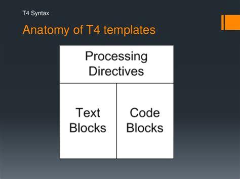 t4 templates t4 code generation
