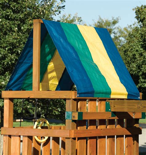 swing set canopy replacement replacement tarps 2 tone canopy roof swing n slide