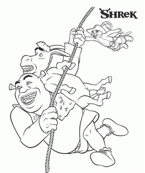 unique coloring book pages kids page shrek and book unique coloring pages