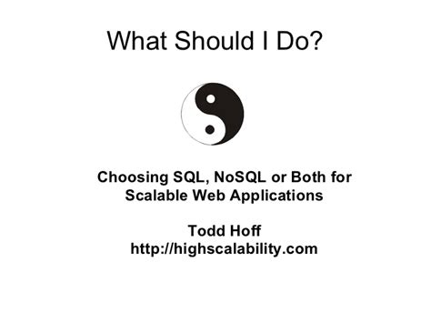 what should i do if i have a bench warrant what should i do choosing sql nosql or both for scalable