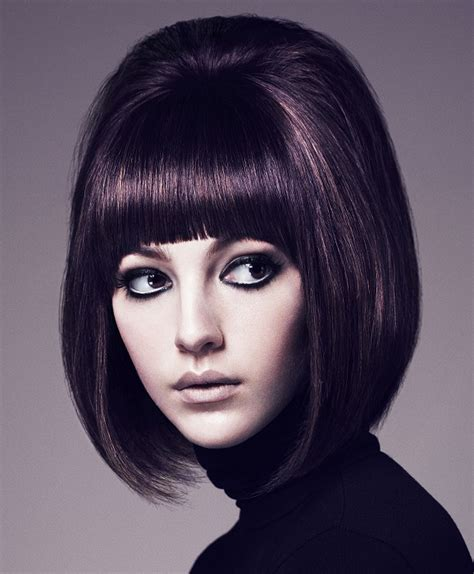 aveda hairstyles gallery a medium brown hairstyle from the aveda collection no 22466