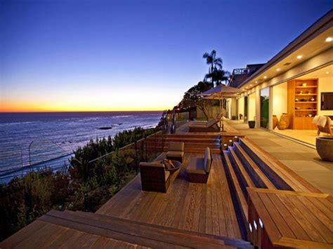 Best Single Story House Plans Stars Homes In Malibu Malibu Beach Homes In California