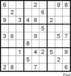 Sudoku puzzle 22 hard free printable puzzles