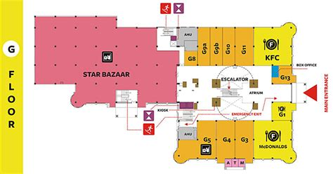 mall floor plan gopalan arcade mall bangalore malls top 10 mall in