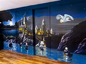 Kids Bathroom Ideas For Boys And Girls harry potter mural sacredart murals