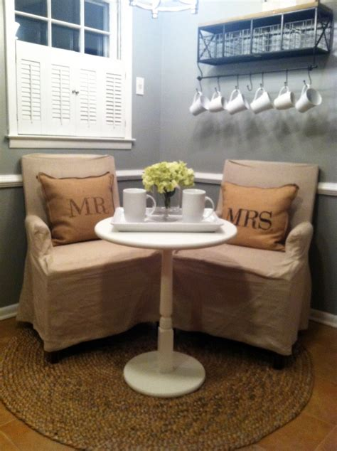 Small Breakfast Nook Furniture | hopes dreams newlyweds breakfast nook