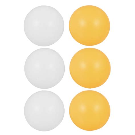 white orange 39mm dia sports tennis balls ping pong