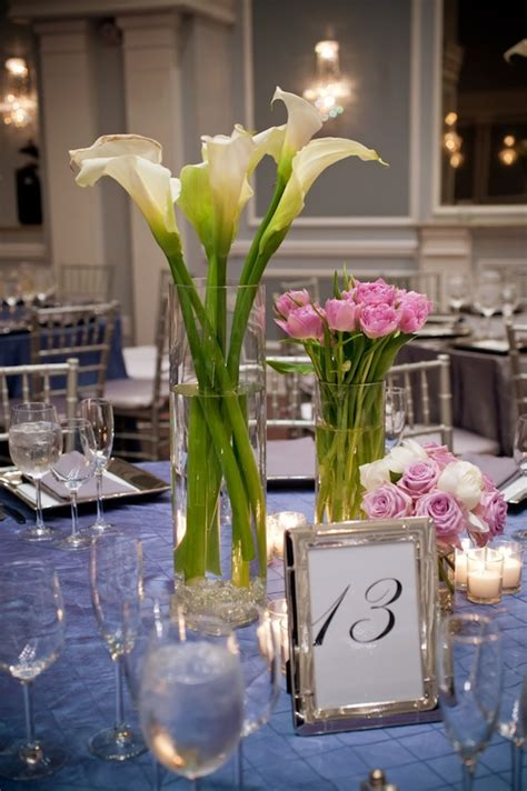 contemporary centerpieces wedding wednesday modern garden beautiful blooms