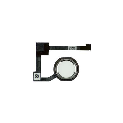 Home Button 2 air 2 white silver home button assembly fixez