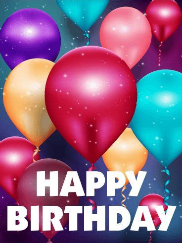 Birthday Balloon Quotes 25 Best Ideas About Happy Birthday Balloons On Pinterest