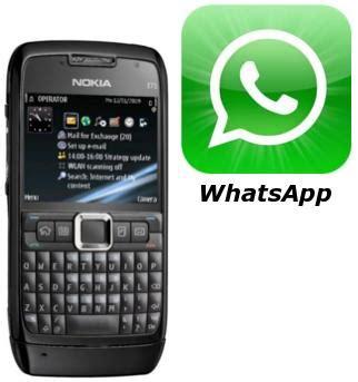 Hp Nokia Di whatsapp untuk nokia 2600 skyteen