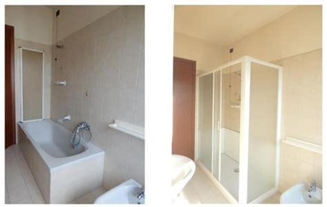sostituire vasca sostituzione vasca con doccia