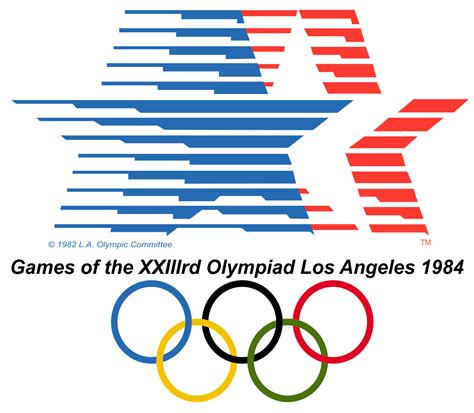 Olympics L by File 1984 Summer Olympics Logo Svg
