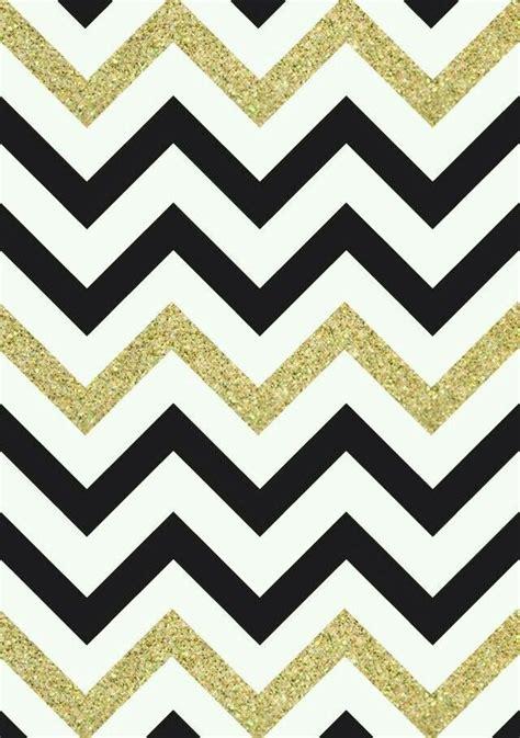 zig zag glitter wallpaper black white gold glitter chevron print wallpaper