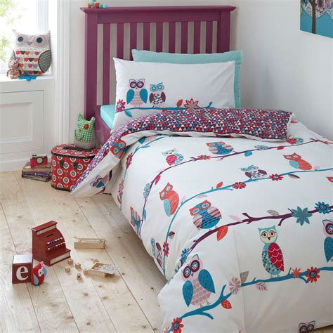 Owls Bedding Set Ben De Lisi Home Designer Kid S Turquoise Owls Bedding Set Set Ebay